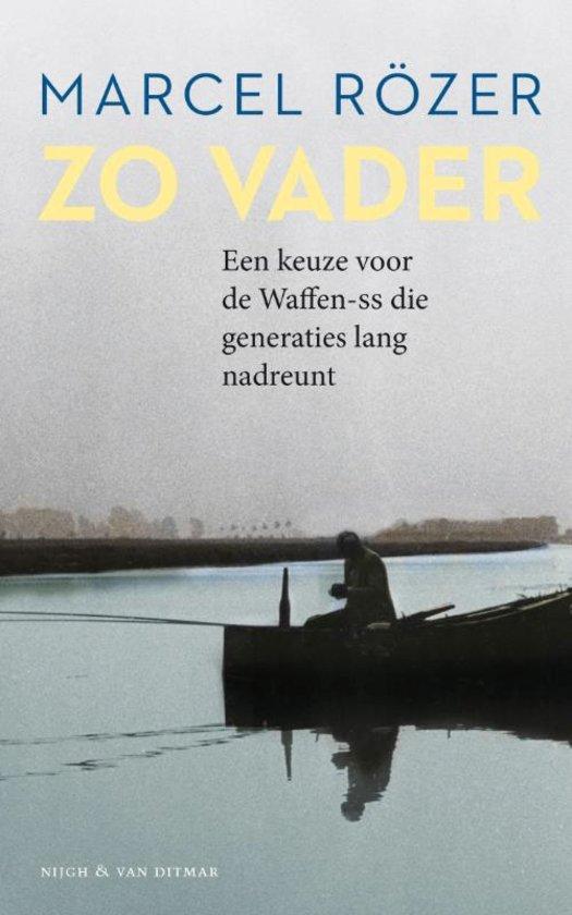 Boek cover van Zo Vader, het boek van Marcel Rözer